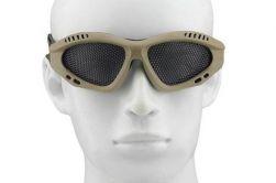 Óculos de Proteção com Tela - Bege