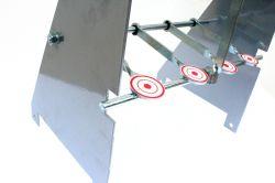Alvo 4 Pêndulos e 1 Desarme - Para Calibres 4,5 e 5,5mm