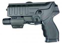 Coldre para PT24/7-840-838-845 ou Glock  com Lanterna - Canhoto