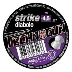 Chumbinho Strike Diabolo  4,5mm - 250 unidades