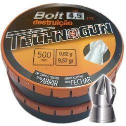 Chumbinho Bolt Master Destruição 4,5mm - 500unidades