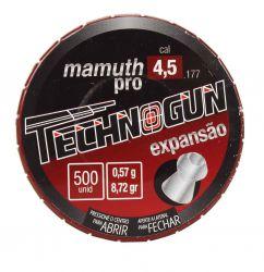 Chumbinho Mamuth Pro  Master 4,5mm - 500unidades / 21.017