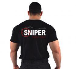 Camiseta Bordada Sniper
