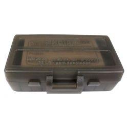 Caixa para 50 Munições SHOTGUN Cal. .380 & 9mm com adaptador para .22LR - FUMÊ
