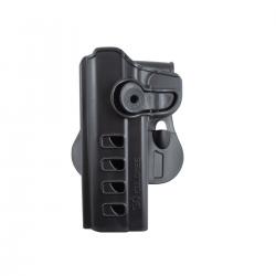 Coldre Para PT24/7-840-838-845 ou Glock com Lanterna  - Canhoto (SC001D)